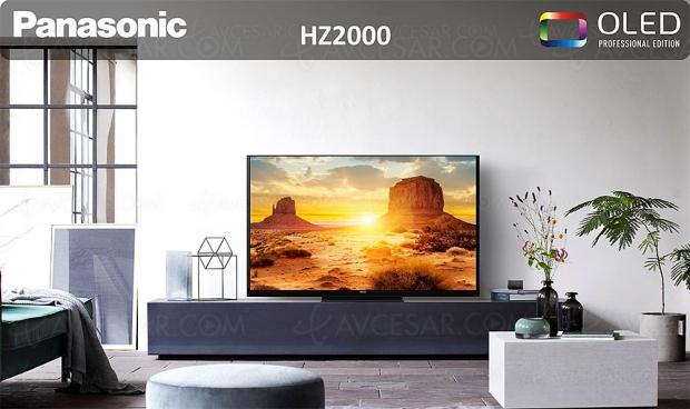 TV Oled Ultra HD 4K Panasonic HZ2000, mise à jour prix indicatifs