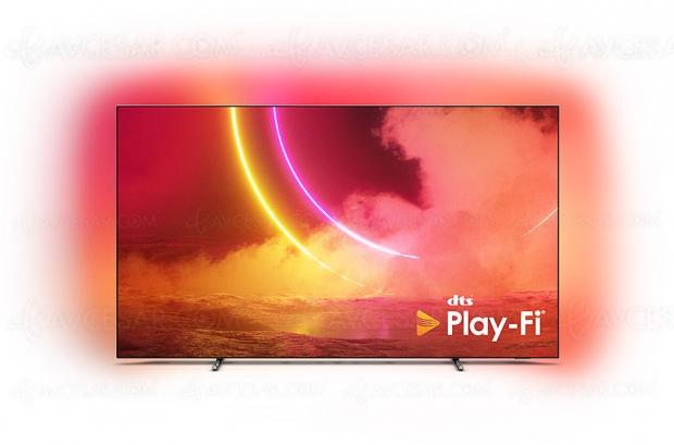 Partenariat Philips et DTS Play‑Fi : téléviseurs, barres sonores et enceintes sans‑fil et multiroom