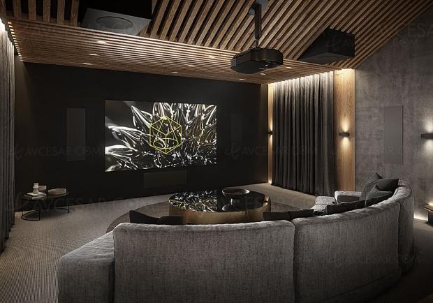 Dali Phantom M, enceintes encastrables compactes Home Cinéma/Hi‑Fi