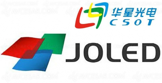 Partenariat Joled/CSOT pour le développement de panneaux TV Oled