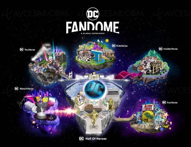 Événement exclusif en ligne DC Comics Fandome le 22 août