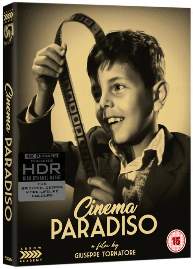 Cinema paradiso, la madeleine de Giuseppe Tornatore pour la première fois en 4K Ultra HD