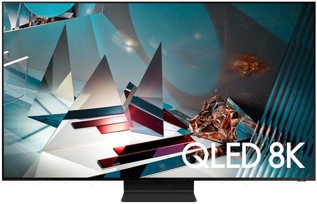 Test TV QLED Ultra HD 8K Samsung QE65Q800T, en ligne