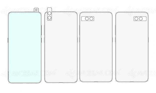 Smartphone Xiaomi avec capteur photo rotatif (brevet)