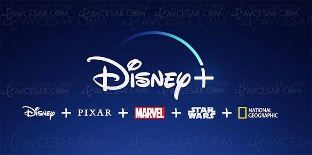 Disney+, retour du plein débit (4K/HDR et Dolby Atmos) le 8 juillet