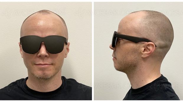 Prototype de lunettes à réalité virtuelle Facebook (avec du pancake dedans !)