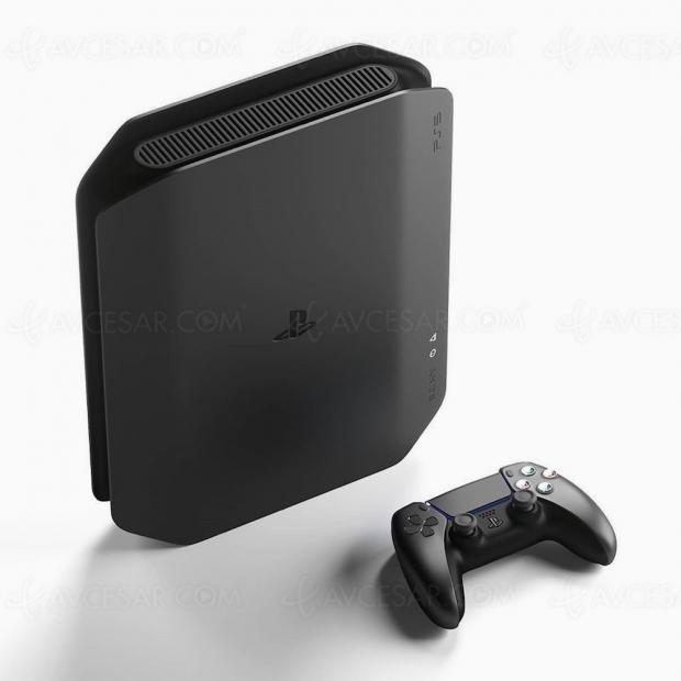 PlayStation 5 noire, concept