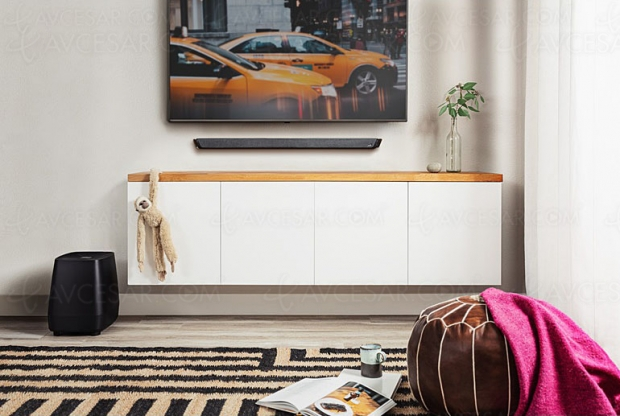 Polk Audio MagniFi 2, barre sonore 2.1 Bluetooth et Chromecast