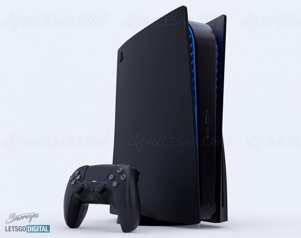 PlayStation 5 noire, très beau concept (vidéo)