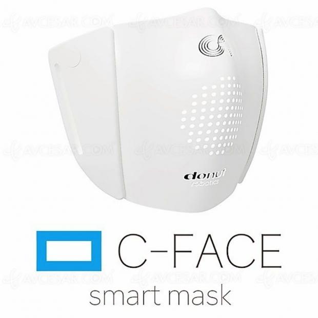 C‑Face, le masque anti-Covid fait aussi traducteur 8 langues