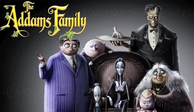 Le grand retour «très animé » de La famille Addams