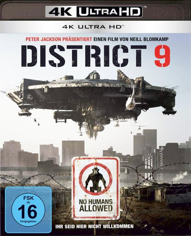 District 9 4K Ultra HD, après l'Allemagne, les USA