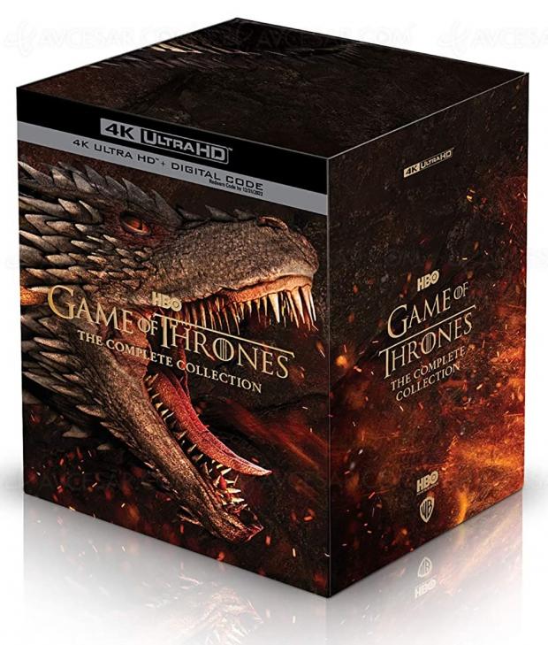 Intégrale Game of Thrones Collector 4K Ultra HD le 3 novembre