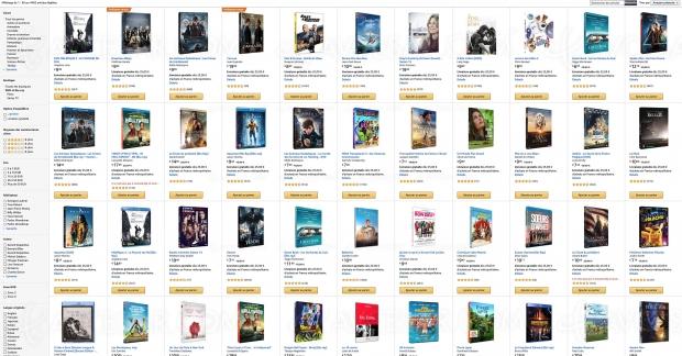 Amazon, deux 4K Ultra HD/Blu‑Ray achetés, un troisième offert parmi 4 482 titres