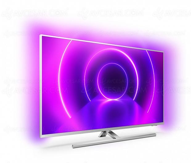 TV LED Ultra HD 4K Philips PUS8505 The One Performance, mise à jour prix indicatifs