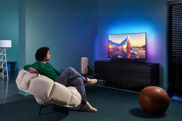 TV LED Ultra HD 4K Philips PUS9435, mise à jour prix indicatifs