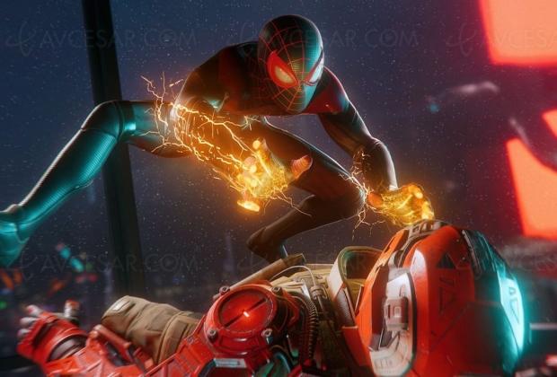 Spider-Man PlayStation 5 en 4K et 60 images/seconde