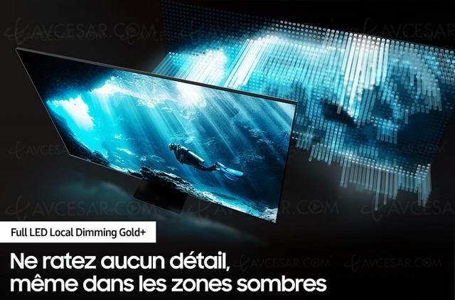 Soldes été 2020, TV QLED Ultra HD 8K Samsung QE65Q800T à -1 000 € de remise