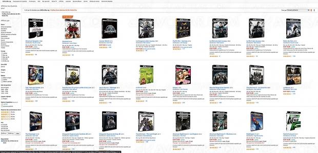 Soldes été 2020 Amazon, 35 coffrets 4K à 10 € à ne pas rater !