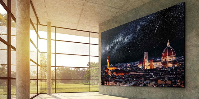 Micro LED, LG sur le point d'annoncer un TV 163'' ?