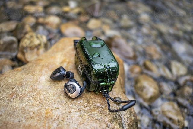Écouteurs Klipsch T5 II True Wireless Sport avec boîtier de recharge/nettoyage