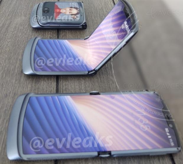 Fuite : smartphone Motorola Razr 5G en image