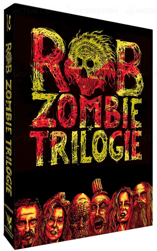 Coffret trilogie Rob Zombie : radiographie d'une Amérique déboussoulée