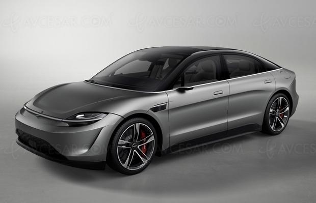 Sony va tester son prototype de voiture électrique Vision‑S
