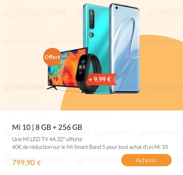 Offre Xiaomi : TV Mi 4A 32'' offert pour l'achat d'un smartphone Mi 10