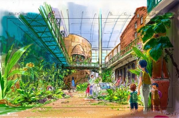 Nouvelles images du parc d'attractions Ghibli (Mononoke, Totoro,Kiki…)