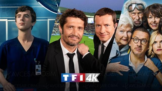 TF1 4K, des films et des séries Ultra HD en plus du sport à partir du 23 août