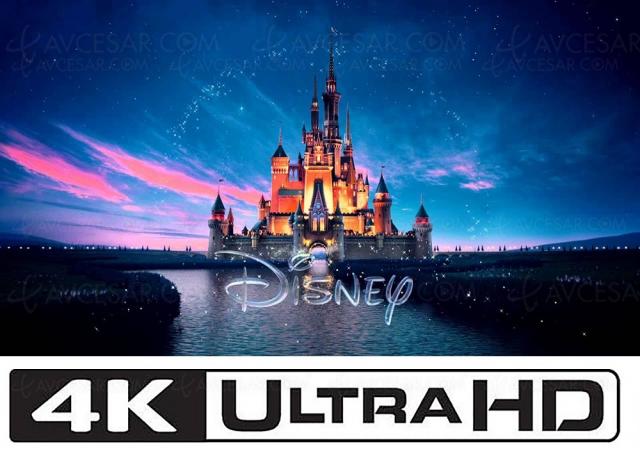 Disney : coup fatal pour le 4K Ultra HD Blu‑Ray ?