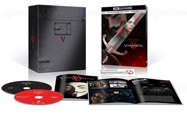 V pour Vendetta , encore un film des Wachowski bientôt en 4K