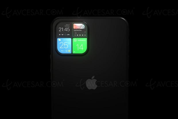 Génial concept iPhone 12 : écran sur le module caméra !