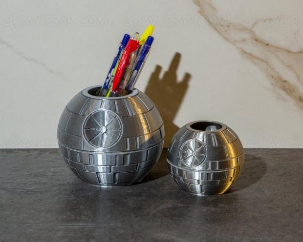 On prépare la rentrée avec le porte-stylo Star Wars Étoile Noire