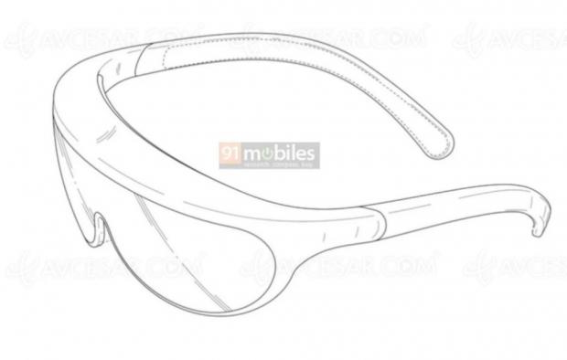 Design final des lunettes à réalité augmentée Samsung ?