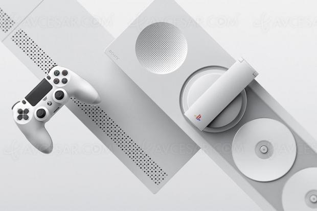 Concept PlayStation à triple lecteur Blu‑Ray !