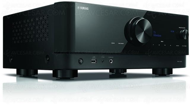 Yamaha RX-V4A : ampli 5.2, HDMI 2.1, 8K, HDR Dolby Vision, HDR10+, AirPlay 2…
