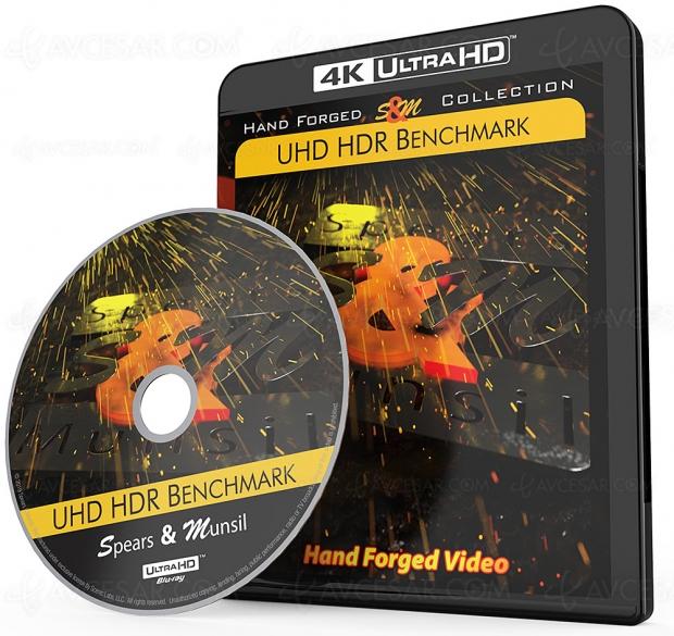 Disque calibrage écran Ultra HD 4K HDR Spears & Munsil pour amateurs et professionnels