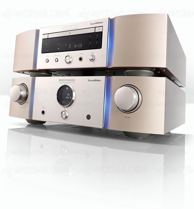 Marantz Serie 12 SE audiophile avec procédé Marantz Musical Mastering