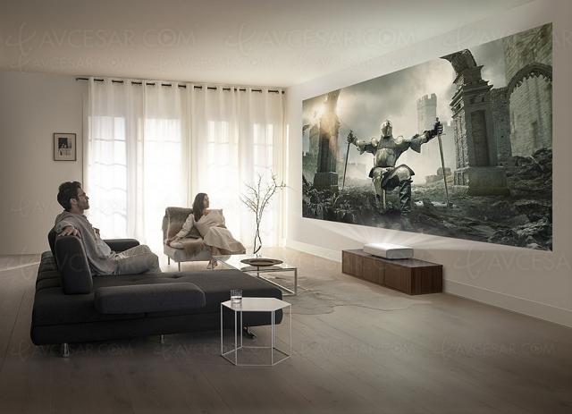 IFA 20 > Samsung The Premiere LSP7T, vidéoprojecteur Ultra HD 4K ultracourte focale