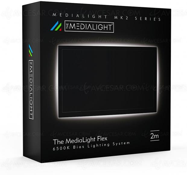 The Medialight MK2 Flex, pour une meilleure image TV et éviter la fatigue oculaire