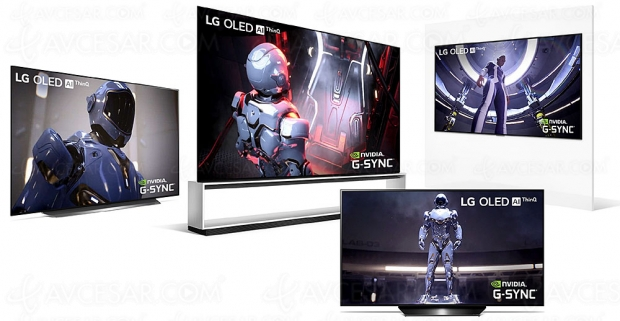 IFA 20 > TV LG LCD/Oled Ultra HD 4K/8K compatibles nVidia GeForce RTX 30xx