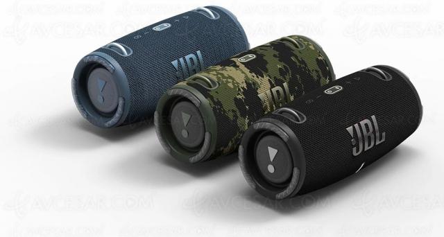 JBL Xtreme 3 : enceinte Bluetooth, nomade, étanche, batterie de secours…
