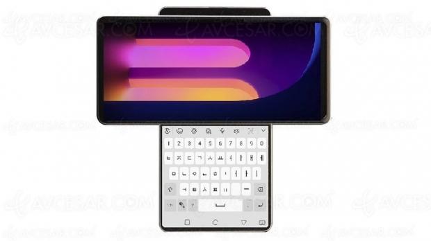 LG Wing, smartphone à double écran rotatif