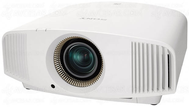 Sony VPL‑VW590ES, vidéoprojecteur SXRD 4K avec Dynamic HDR Enhancer et processeur X1