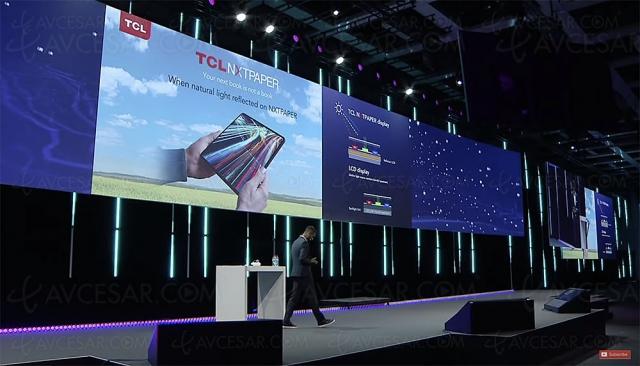 Technologie TCL NXTPAPER pour tablettes : e‑paper nouvelle génération (couleur)