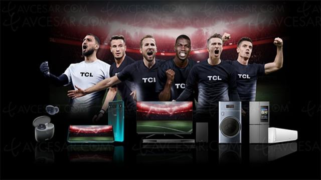 Pogba, Donnarumma, Piatek, Kane, Ñíguez et Reus, nouveaux ambassadeurs TCL