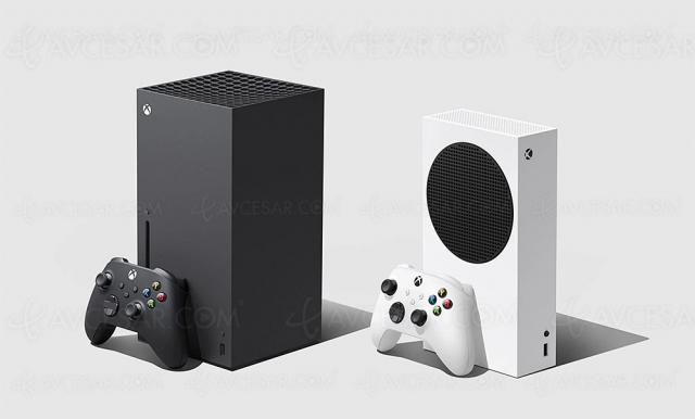 Xbox Series X/Series S en vente le 10 novembre à 499,99 €/299,99 €, officiel !