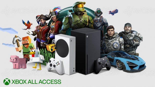 Xbox All Access : Xbox Series X/Series S + Game Pass Ultimate + EA Play à partir de 24,99 €/mois